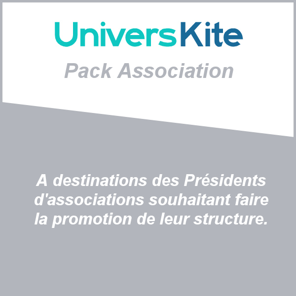 pack association universkite publicite kitesurf